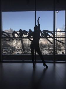 Kilátás a tánciskolából